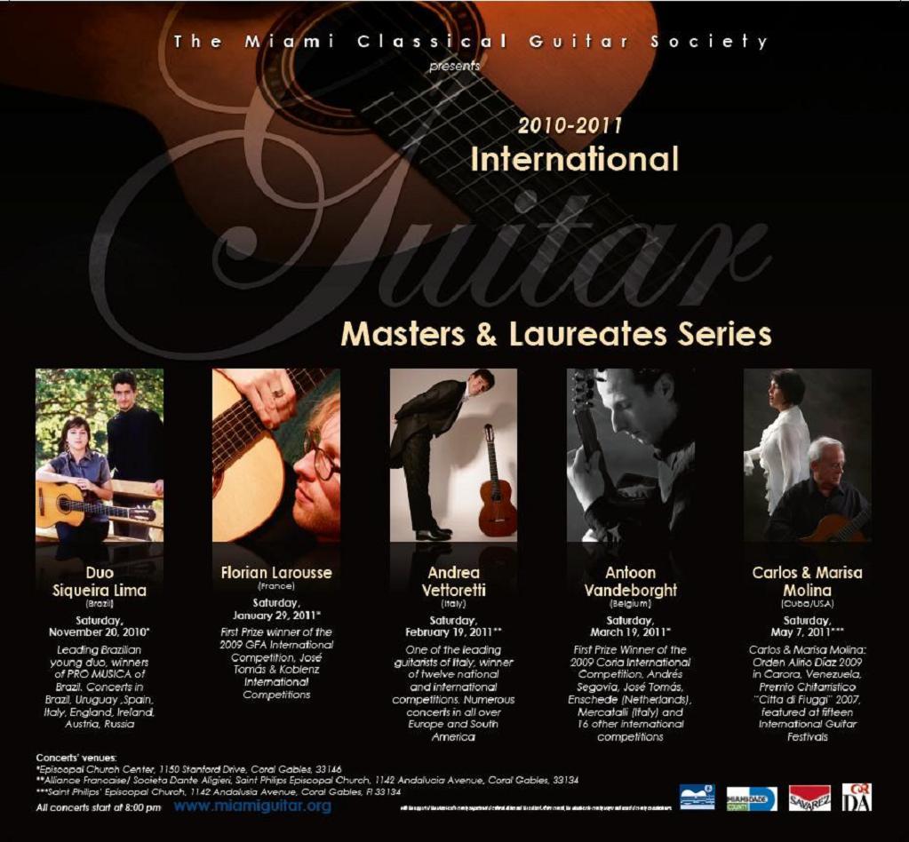 2010-2011 Concert Series